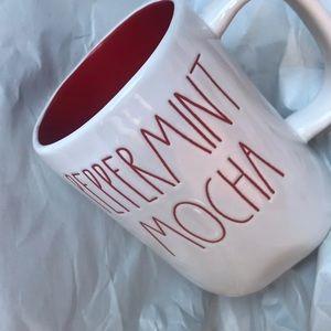New Rae Dunn Peppermint Mocha Mug